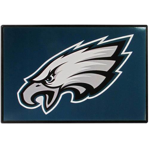 Philadelphia Eagles Game Day Wiper Flag - Our Philadelphia Eagles Game Day Wiper Flag is the first ever, sign-in-motion, that will display your team spirit as you're cruising the streets on game day! Keep your flag up year-round and swap out the interchangeable flag when needed. The flag easily attaches to the top of your windshield wiper or back of your bike. Remember to remove decal plate when entering the carwash.