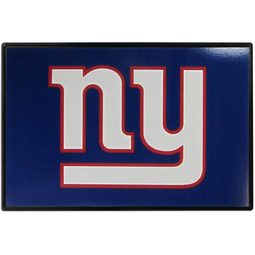 New York Giants Game Day Wiper Flag - Our New York Giants Game Day Wiper Flag is the first ever, sign-in-motion, that will display your team spirit as you're cruising the streets on game day! Keep your flag up year-round and swap out the interchangeable flag when needed. The flag easily attaches to the top of your windshield wiper or back of your bike. Remember to remove decal plate when entering the carwash.