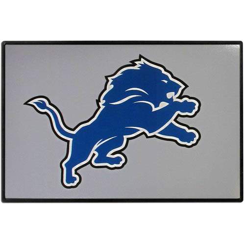 Detroit Lions Game Day Wiper Flag - Our Detroit Lions Game Day Wiper Flag is the first ever, sign-in-motion, that will display your team spirit as you're cruising the streets on game day! Keep your flag up year-round and swap out the interchangeable flag when needed. The flag easily attaches to the top of your windshield wiper or back of your bike. Remember to remove decal plate when entering the carwash.