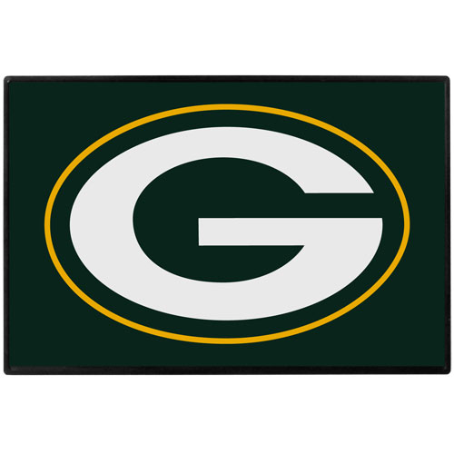 Green Bay Packers Game Day Wiper Flag - Our Green Bay Packers Game Day Wiper Flag is the first ever, sign-in-motion, that will display your team spirit as you're cruising the streets on game day! Keep your flag up year-round and swap out the interchangeable flag when needed. The flag easily attaches to the top of your windshield wiper or back of your bike. Remember to remove decal plate when entering the carwash.