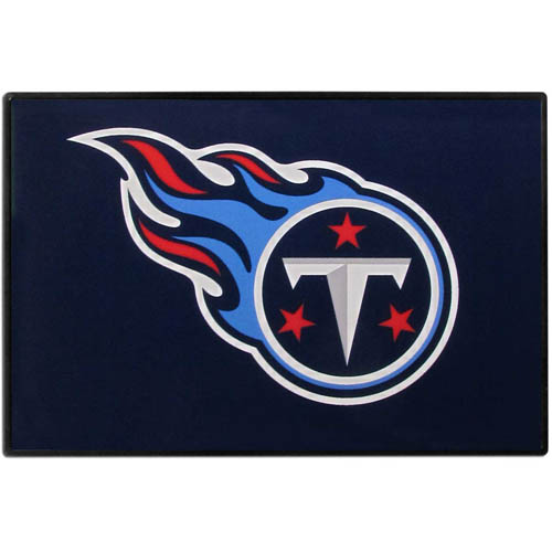 Tennessee Titans Game Day Wiper Flag - Our Tennessee Titans Game Day Wiper Flag is the first ever, sign-in-motion, that will display your team spirit as you're cruising the streets on game day! Keep your flag up year-round and swap out the interchangeable flag when needed. The flag easily attaches to the top of your windshield wiper or back of your bike. Remember to remove decal plate when entering the carwash.