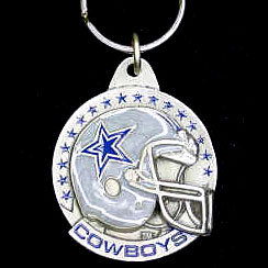"NFL Team Helmet Key Ring - Dallas Cowboys - Dallas Cowboys  team design NFL key chain. Approx. 1 1/4"" Fob. Checkout our entire line of  licensed sports collectibles! Officially licensed NFL product Licensee: Siskiyou Buckle Thank you for visiting CrazedOutSports.com"