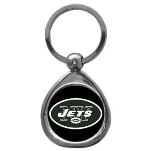NFL Key Chain - New York Jets - Our NFL chrome keychain has a high polish nickel keychain with domed team logo insert. Officially licensed NFL product Licensee: Siskiyou Buckle Thank you for visiting CrazedOutSports.com