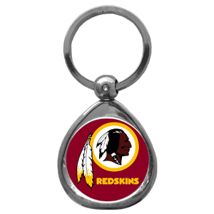 NFL Key Chain - Washington Redskins - Our NFL chrome keychain has a high polish nickel keychain with domed team logo insert. Officially licensed NFL product Licensee: Siskiyou Buckle Thank you for visiting CrazedOutSports.com