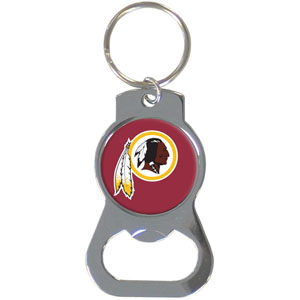 NFL Bottle Opener Key Ring - Washington Redskins