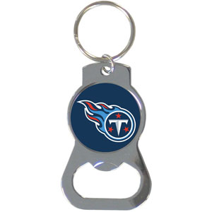 NFL Bottle Opener Key Ring - Tennessee Titans - This key ring features a built in bottle opener and NFL logo. Check out our entire line of  key rings! Officially licensed NFL product Licensee: Siskiyou Buckle .com