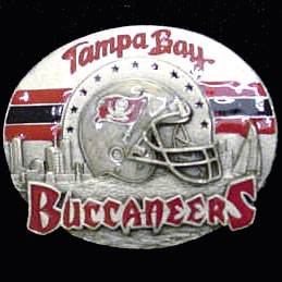 NFL 3D Magnet - Tampa Bay Buccaneers - Our NFL team magnets feature great detail and a hand enameled finish. A must have for any Tampa Bay Buccaneers fan! Check out our extensive line of  NFL merchandise! Officially licensed NFL product Licensee: Siskiyou Buckle .com