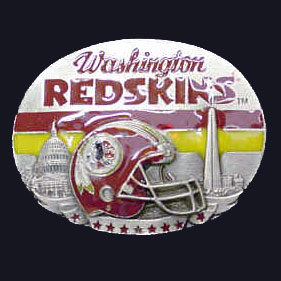 NFL 3D Magnet - Washington Redskins - Our NFL team magnets feature great detail and a hand enameled finish. A must have for any Washington Redskins fan! Check out our extensive line of  NFL merchandise! Officially licensed NFL product Licensee: Siskiyou Buckle Thank you for visiting CrazedOutSports.com