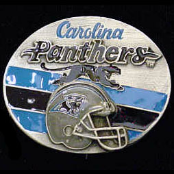 NFL 3D Magnet - Carolina Panthers - Our NFL team magnets feature great detail and a hand enameled finish. A must have for any Carolina Panthers fan! Check out our extensive line of  NFL merchandise! Officially licensed NFL product Licensee: Siskiyou Buckle Thank you for visiting CrazedOutSports.com