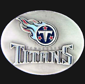 NFL 3D Magnet - Tennessee Titans - Our NFL team magnets feature great detail and a hand enameled finish. A must have for any Tennessee Titans fan! Check out our extensive line of  NFL merchandise! Officially licensed NFL product Licensee: Siskiyou Buckle .com