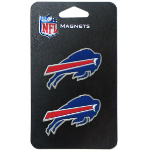NFL Magnet Set - Buffalo Bills - Our NFL magnet set comes with 2 finely detailed zinc magnets that are hand enameled featuring your favorite NFL team's logo. Check out our entire line of  gifts!  Officially licensed NFL product Licensee: Siskiyou Buckle .com