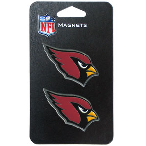 NFL Magnet Set - Arizona Cardinals - Our NFL magnet set comes with 2 finely detailed zinc magnets that are hand enameled featuring your favorite NFL team's logo. Check out our entire line of  gifts!  Officially licensed NFL product Licensee: Siskiyou Buckle .com