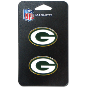 NFL Magnet Set - Green Bay Packers - Our NFL magnet set comes with 2 finely detailed zinc magnets that are hand enameled featuring your favorite NFL team's logo. Check out our entire line of  gifts! Officially licensed NFL product Licensee: Siskiyou Buckle .com