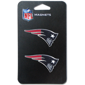 NFL Magnet Set - New England Patriots - Our NFL magnet set comes with 2 finely detailed zinc magnets that are hand enameled featuring your favorite NFL team's logo. Check out our entire line of  gifts! Officially licensed NFL product Licensee: Siskiyou Buckle .com