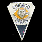 NFL Team Pin - Chicago Bears - Sculpted NFL team pin that features the Chicago Bears. Officially licensed NFL product Licensee: Siskiyou Buckle .com