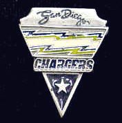 NFL Pin - Los Angeles Chargers - Officially licensed NFL lapel pin.
