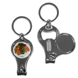 Chicago Blackhawks® Nail Care/Bottle Opener Key Chain