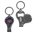 Montreal Canadiens® Nail Care/Bottle Opener Key Chain