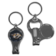 Nashville Predators® Nail Care/Bottle Opener Key Chain