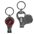 Arizona Coyotes® Nail Care/Bottle Opener Key Chain