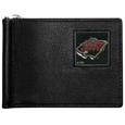 Minnesota Wild® Leather Bill Clip Wallet