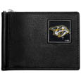 Nashville Predators® Leather Bill Clip Wallet