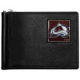 Colorado Avalanche® Leather Bill Clip Wallet