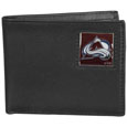 Colorado Avalanche® Leather Bi-fold Wallet Packaged in Gift Box