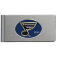 St. Louis Blues® Brushed Metal Money Clip