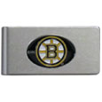 Boston Bruins® Brushed Metal Money Clip