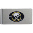 Buffalo Sabres® Brushed Metal Money Clip