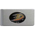 Anaheim Ducks® Brushed Metal Money Clip