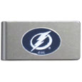 Tampa Bay Lightning® Brushed Metal Money Clip