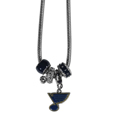 St. Louis Blues® Euro Bead Necklace