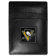 Pittsburgh Penguins® Leather Money Clip/Cardholder Packaged in Gift Box