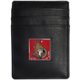 Ottawa Senators® Leather Money Clip/Cardholder Packaged in Gift Box
