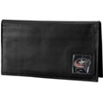 Columbus Blue Jackets® Deluxe Leather Checkbook Cover