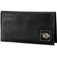 Nashville Predators® Deluxe Leather Checkbook Cover