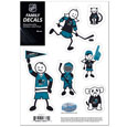 San Jose Sharks® Family Decal Set Small