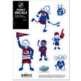 Colorado Avalanche® Family Decal Set Small