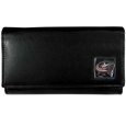 Columbus Blue Jackets® Leather Women's Wallet