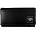 Nashville Predators® Leather Women's Wallet