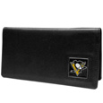 Pittsburgh Penguins® Leather Checkbook Cover