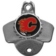 Calgary Flames® Wall Mounted Bottle Opener