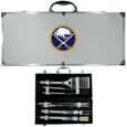 Buffalo Sabres® 8 pc Stainless Steel BBQ Set w/Metal Case
