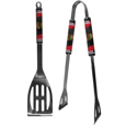 Chicago Blackhawks  2 pc Steel BBQ Tool Set - This stainless steel 2 pc BBQ set is a tailgater's best friend. The colorful and large team graphics let's everyone know you are a fan! The set in includes a spatula and tongs with the Chicago Blackhawks  proudly display on each tool. Thank you for visiting CrazedOutSports