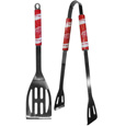 Detroit Red Wings 2 pc Steel BBQ Tool Set - This stainless steel 2 pc BBQ set is a tailgater's best friend. The colorful and large team graphics let's everyone know you are a fan! The set in includes a spatula and tongs with the Detroit Red Wings proudly display on each tool. Thank you for visiting CrazedOutSports