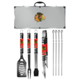 Chicago Blackhawks® 8 pc Tailgater BBQ Set