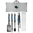 San Jose Sharks® 8 pc Tailgater BBQ Set