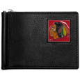 Chicago Blackhawks® Leather Bill Clip Wallet